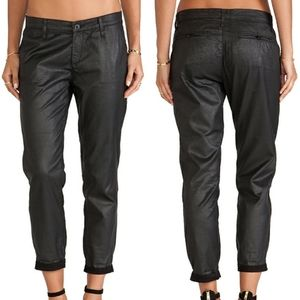 AG Tristan Leatherette Tailored Trouser Pants